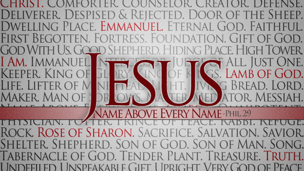 Jesus, the Name above all names